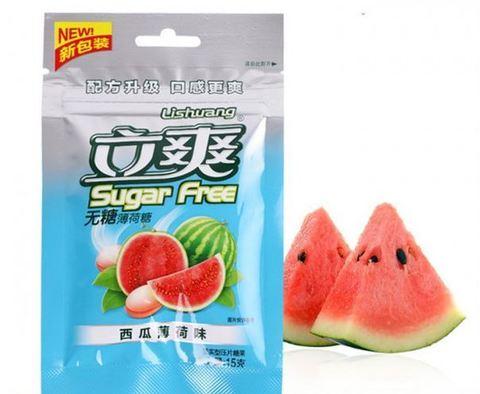 Освежающие мятные конфеты без сахара
