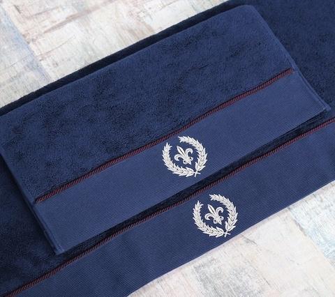 SEYMOUR - СЕЙМУР синий полотенце махровое Maison Dor(Турция) .