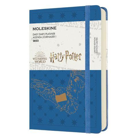Ежедневник Moleskine (DHP12DC2Y22) LE Harry Potter Pocket 90x140мм 400стр. синий