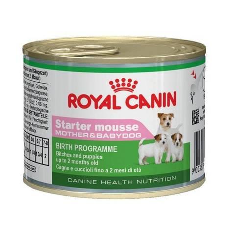 ROYAL CANIN Консервы для щенков, беременных и кормящих сук Starter Mousse Mother&Babydog
