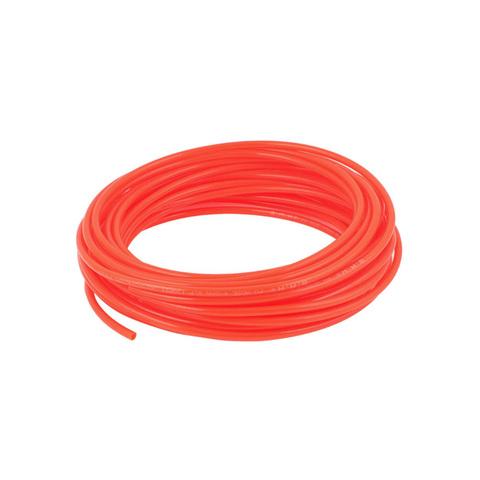 Трубка полиуретановая PU оранжевая 10х6,5 мм, 1 метр
