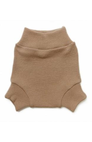Однослойные пеленальные штанишки (S, бежевый)