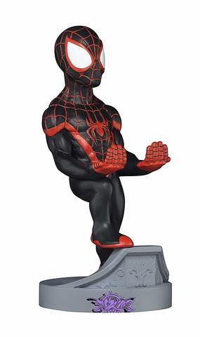 Подставка Cable Guys: Spider-Man Miles Morales
