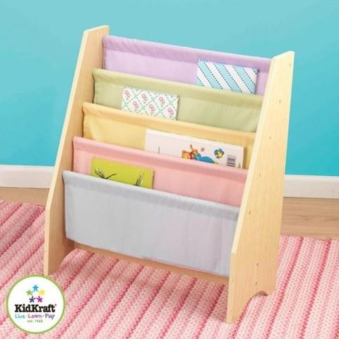 Эксклюзивный книжный шкаф KidKraft Pastel 14225_KE