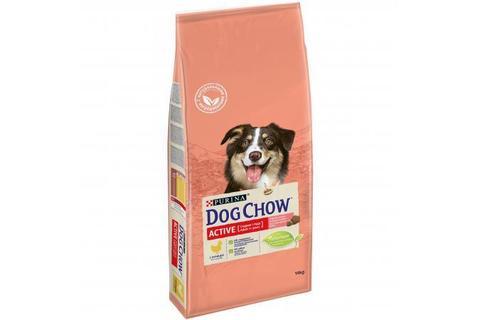 Сухой корм Purina Dog Chow для активных взрослых собак, курица