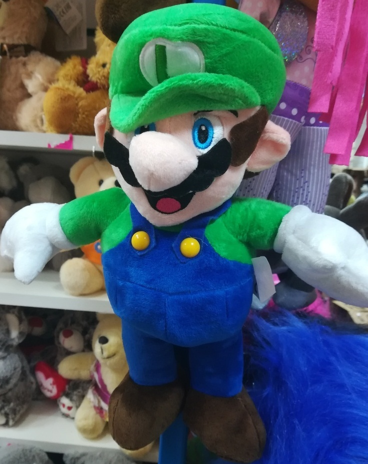 Марио сине-зелёный 25 СМ