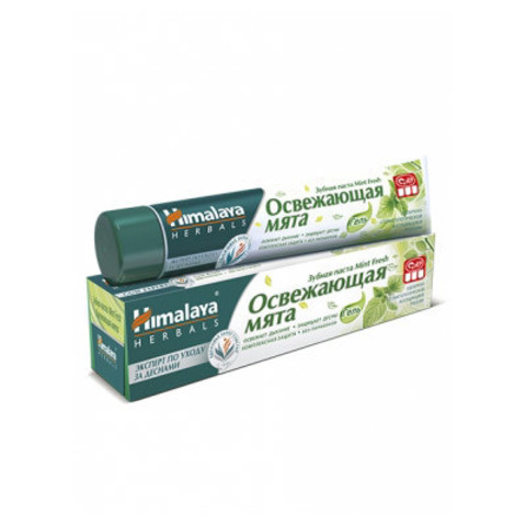 Зубная паста Himalaya Herbals Mint Fresh, 100 гр. Освежающая мята