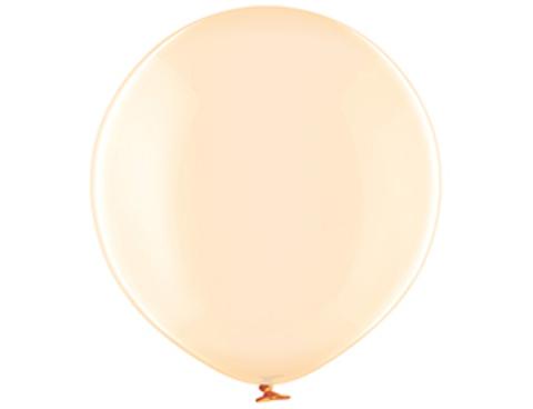 Большой воздушный шар кристалл оранжевый