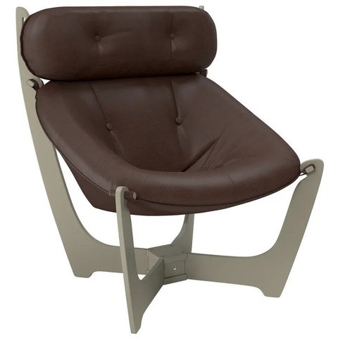 Кресло для отдыха Комфорт Модель 11 серый ясень/Vegas Lite Amber