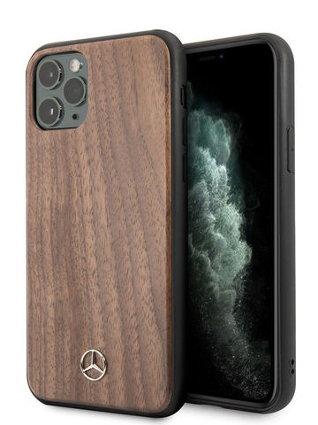 Mercedes / чехол для iPhone 11 Pro | Wood Hard Walnut Brown