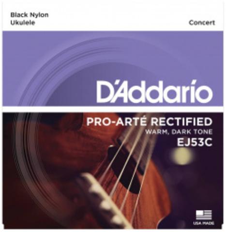D'ADDARIO EJ53C PRO-ARTÉ RECTIFIED UKULELE, CONCERT Струны для укулеле