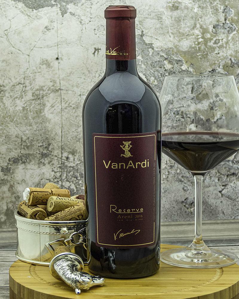 Вино Van Ardi Красное Сухое Резервное 2016 г.у. 13,5% 0,75 л.