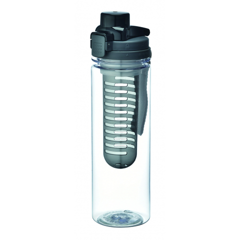 Бутылка с ситечком для фруктов 800 мл серый BK-4404