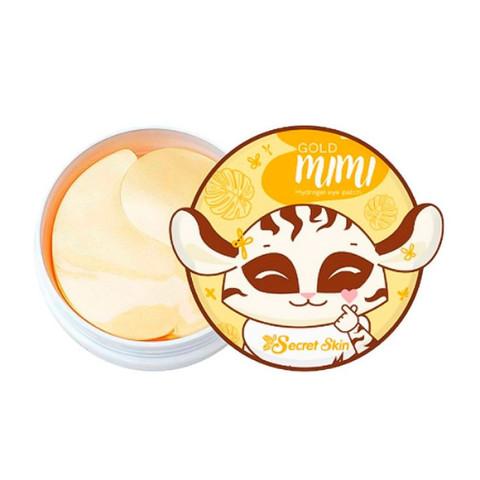 Secret Skin Gold Mimi Hydrogel Eye Patch гидрогелевые патчи для области вокруг глаз с золотом