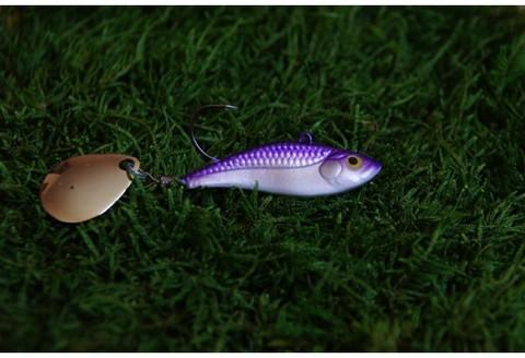 Тейл-спинер Top Tail ручной работы Fire Fish цвет 009