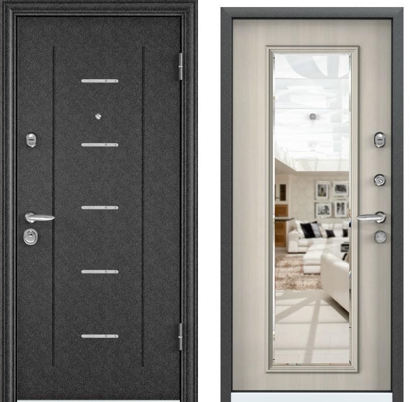Входные двери Torex Super Omega 10 RP-4 черный шелк RS-10 ПВХ белый перламутр generated_image-2.jpg