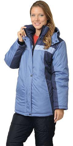 Куртка ИТР женская Синяя с голубым