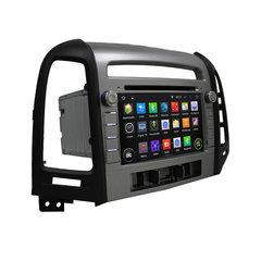 Магнитола для Hyundai Santa Fe (2006-2011) Android 10 4/32GB IPS DSP модель KD-7021-PX5