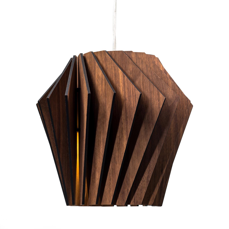 Подвесной светильник Woodled Турболампа, средний - вид 9