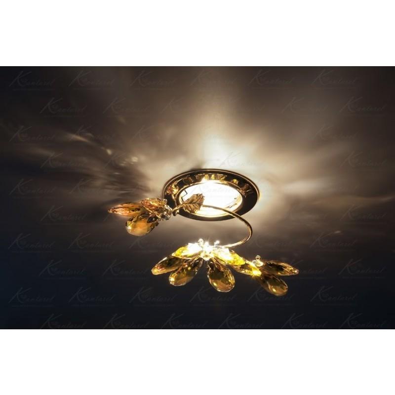 Встраиваемый светильник Kantarel Flourish CD 024.2.2/10 Lt topaz