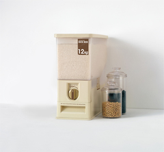 Короб для хранения круп с автоматическим дозатором (12 кг) Swing Lever