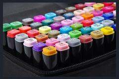 Набор двусторонних спиртовых маркеров Touch Cool