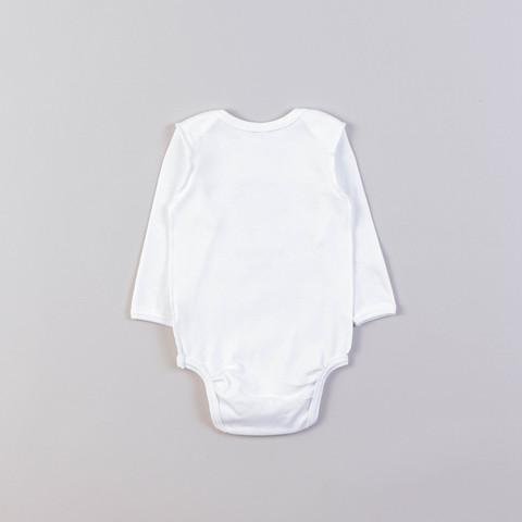 Printed long-sleeved bodysuit 0+, Little Star