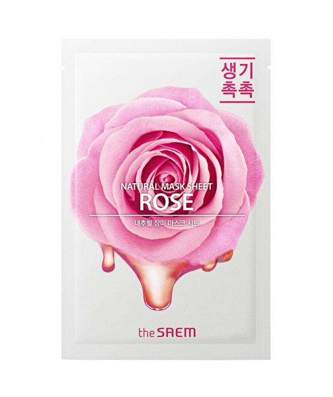 Увлажняющие Маска для лица тканевая с экстрактом розы Natural Rose Mask Sheet 21 мл 20980536775dd9244c08ee6_original.jpg