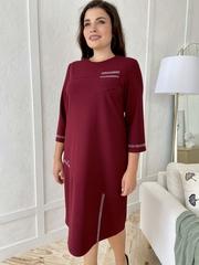 Феєрія. Стильна красива сукня для жінок. Бордо