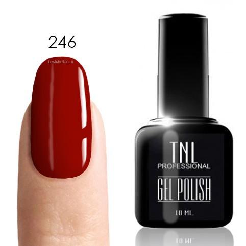 TNL Classic TNL, Гель-лак № 246 - коричнево-малиновый (10 мл) 246.jpg