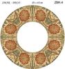 Эскиз для росписи, Зеркало диаметр-45см, SMAR-ZBK-4