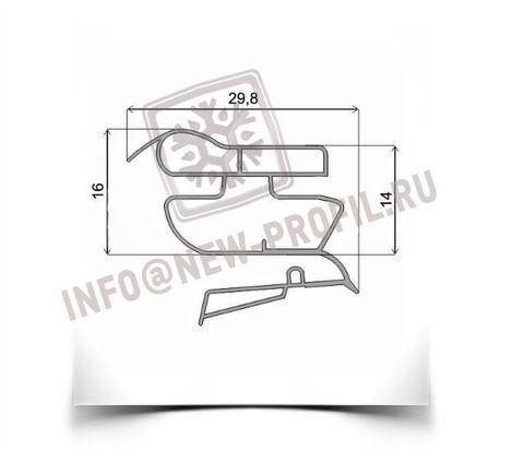 Уплотнитель 65,5*57 см  для холодильника Индезит CA137S (морозильная камера) Профиль 022
