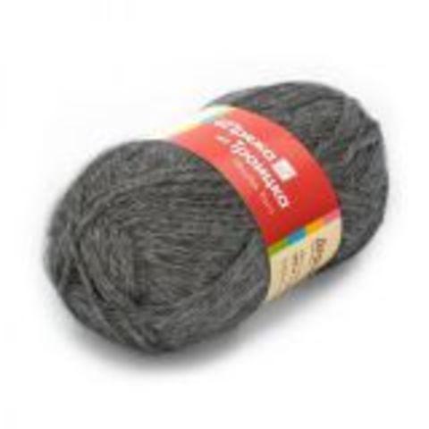 Пряжа Деревенька (Троицкая) 371 Натуральный серый