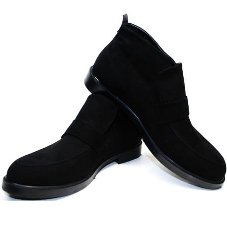 Стильные ботинки мужские - зимние лоферы Richesse R454