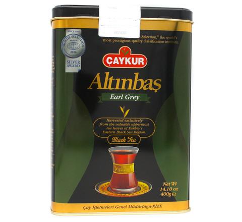 Турецкий черный чай с бергамотом Altinbas, Çaykur, 400 г