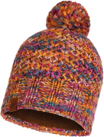 Шапка вязаная с флисом Buff Hat Knitted Polar Margo Multi фото 1