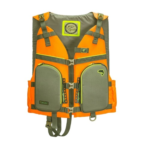 Жилет страховочный Aquatic ЖС-05О, размер 50-52, оранжевый