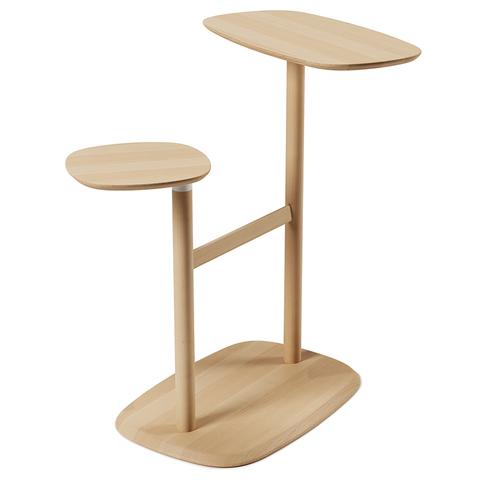 Столик приставной Swivo натуральное дерево