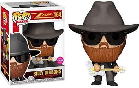 Billy Gibbons (ZZ Top) Funko Pop! Vinyl Figure (Flocked)
