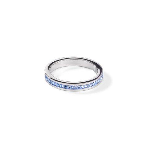 Кольцо Hellblau-Silver 0129/40-0741 56 цвет серебряный, голубой