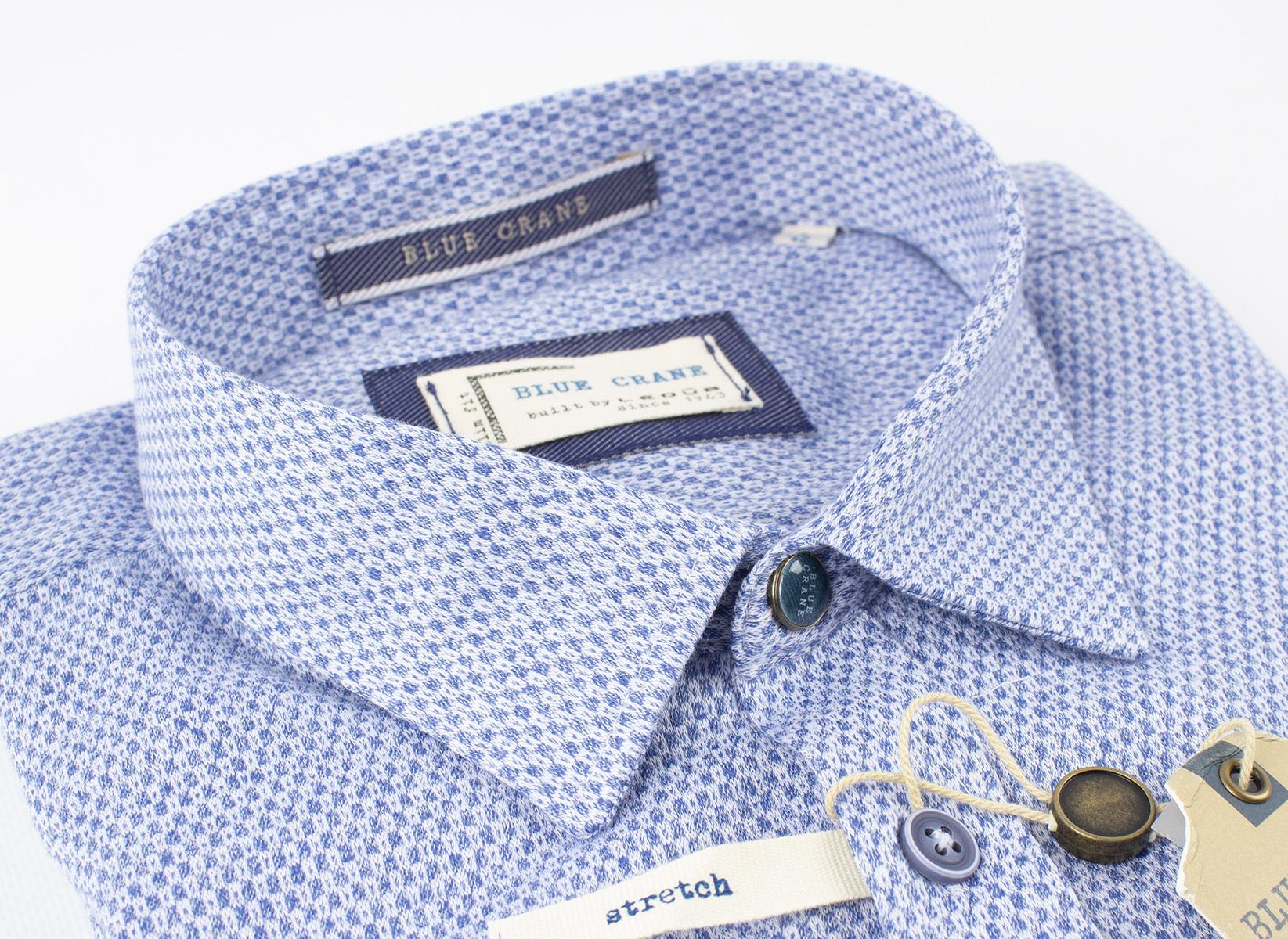 Рубашка Blue Crane slim fit 3100067-170-000-000-SF-Blue