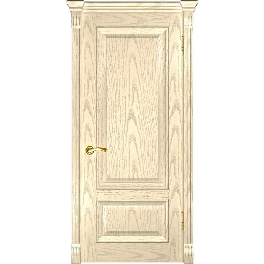 Популярное Межкомнатная дверь шпон Luxor Фараон 1 дуб слоновая кость глухая faraon-1-dg-slonovaya-kost-dvertsov.jpg