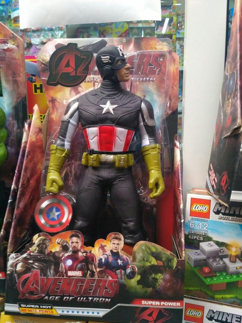 Капитан Америка огромная фигурка