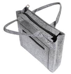 Войлочная сумка Gmakin Swag светло серая