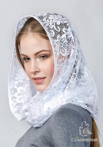 Снуд-шарф в церковь  Венера