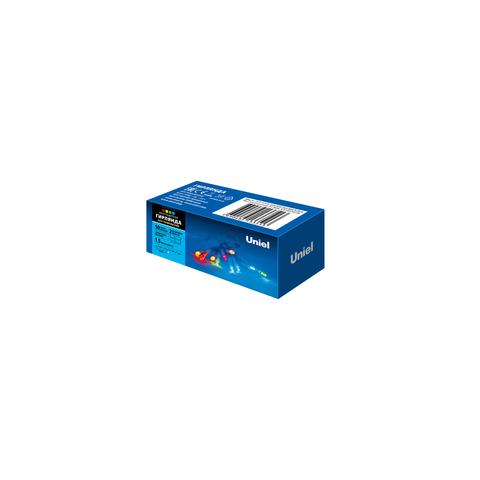 ULD-S0150-010/STB/2AA MULTI IP20 Гирлянда светодиодная на батарейках 2AA (не в/к), 1,5м. 10 светодиодов. Разноцветный свет. Провод прозрачный. TM Uniel