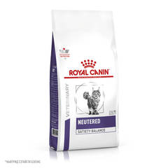 Корм для кастрированных котов и кошек , Royal Canin VCN Neutered Satiety Balance, с момента операции до 7 лет