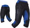 Капри Noname Terminator O-Pants, черный-синий