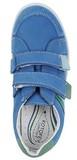 Полуботинки на липучках для мальчиков Котофей 432129-21, цвет голубой. Изображение 5 из 7.