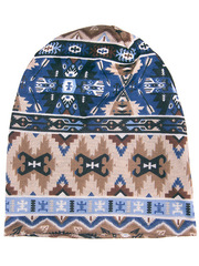 HB15044-2 шапка женская, коричневая
